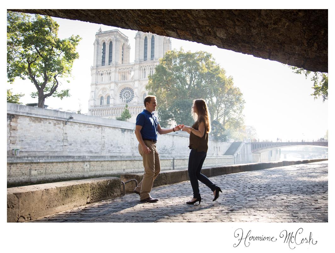 Hermione McCosh Photography paris portrait Notre Dame