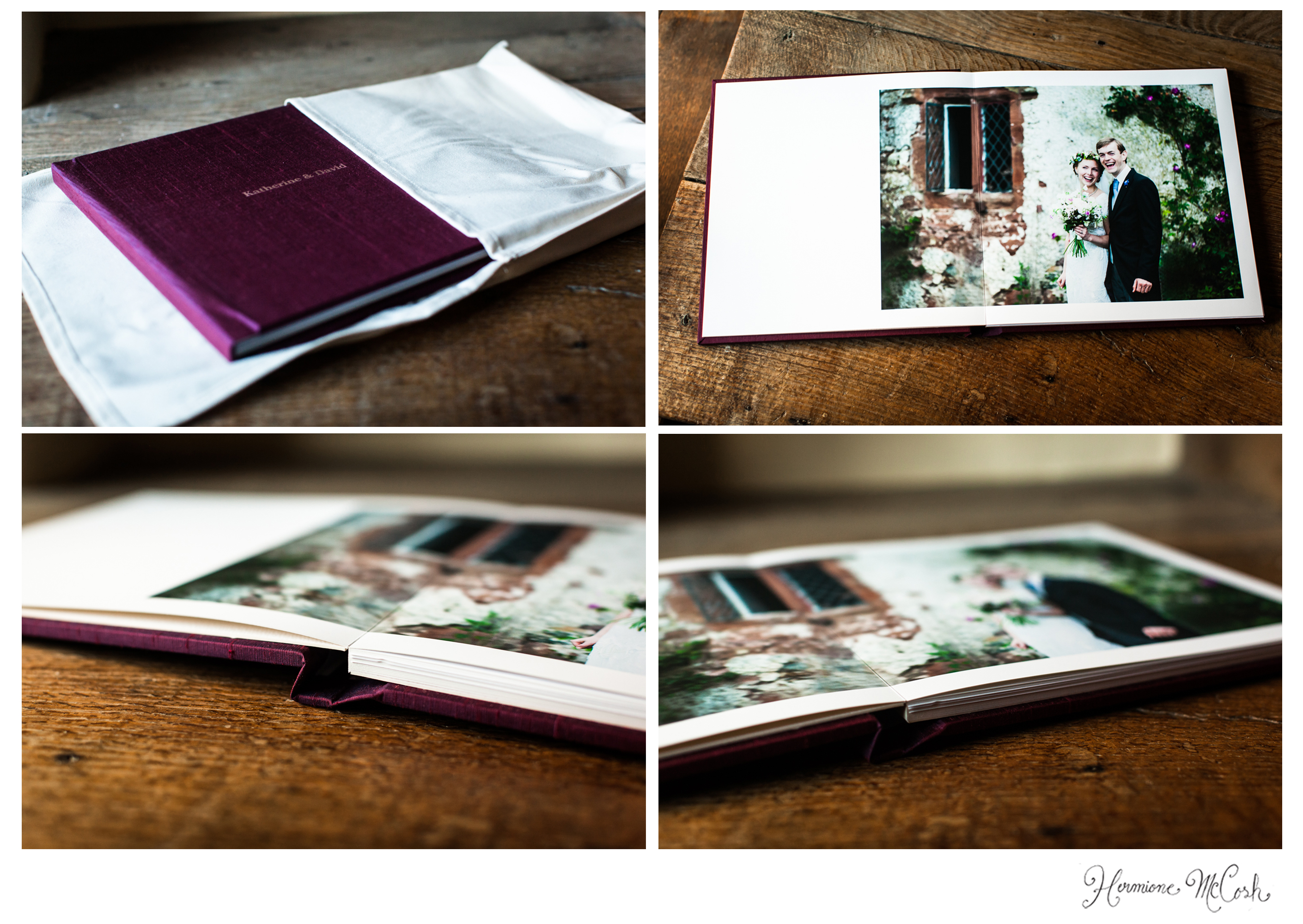 Hermione McCosh Photography Folio wedding photo albums