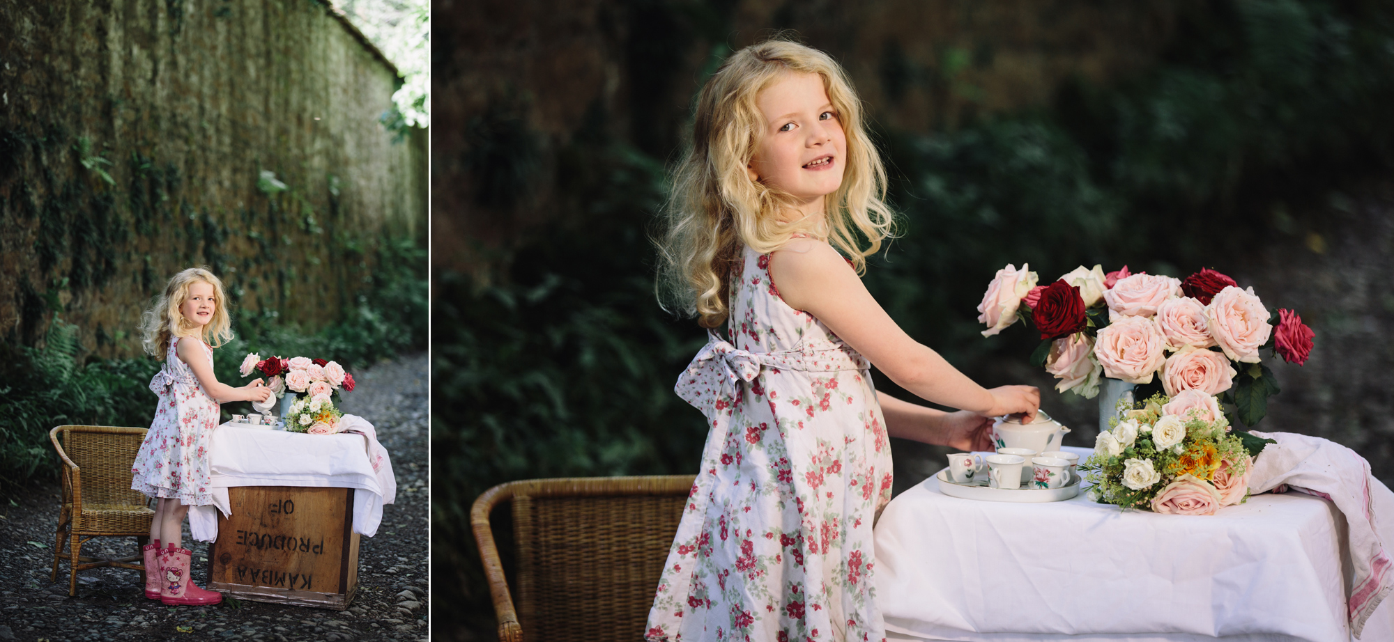 Hermione McCosh Photography - Children's portrait photographer - creative, natural portraits