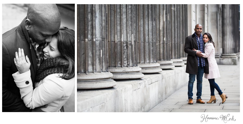 Hermione McCosh photography engagement shoot London