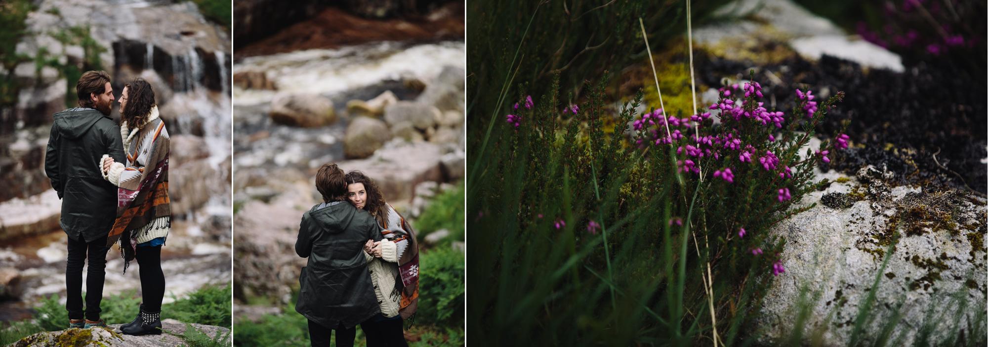 Hermione McCosh Photography - couple photoshoot in Glencoe, Scotland, creative and romantic portraits