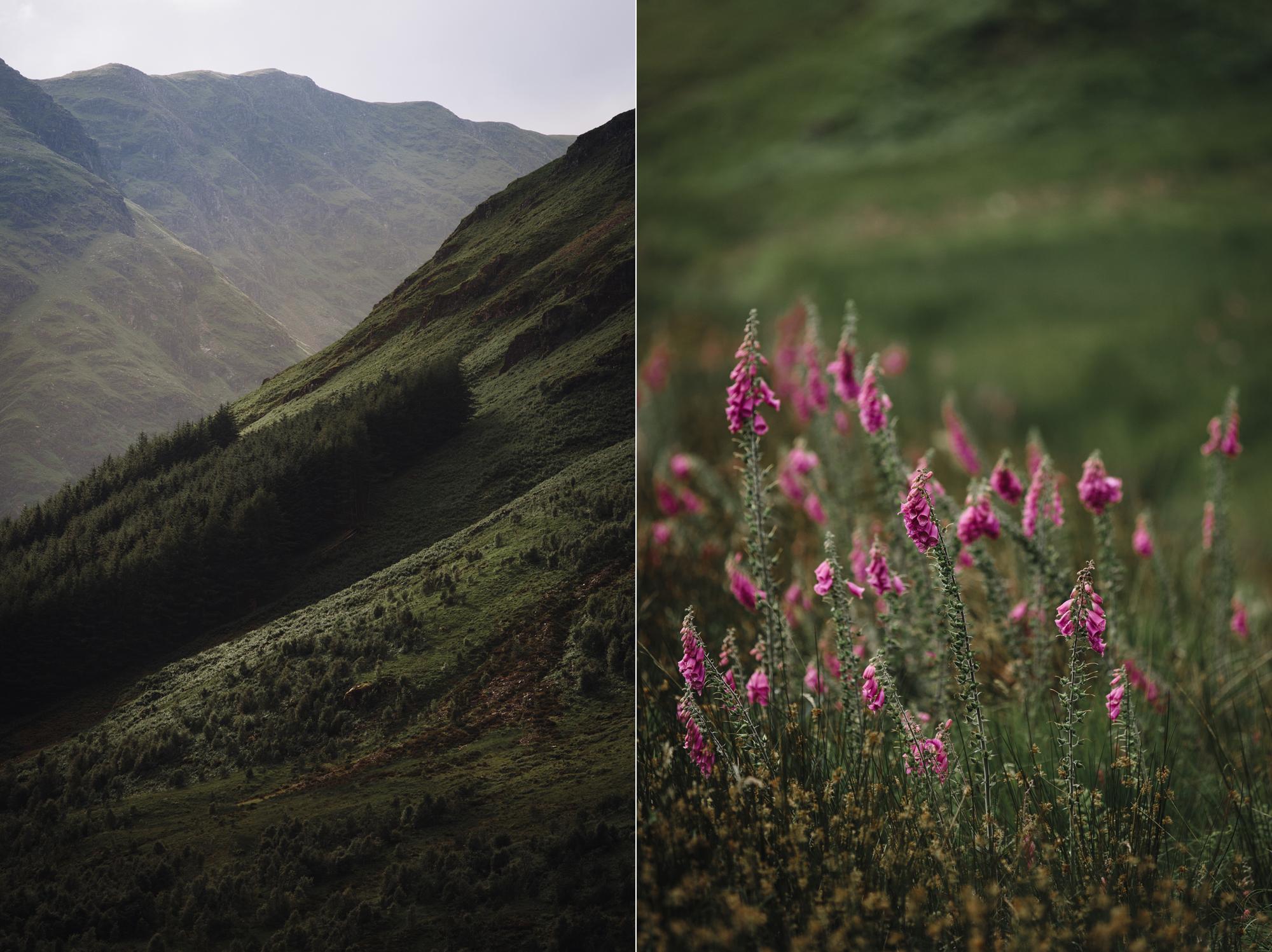 Hermione McCosh Photography - couple photoshoot, Glencoe, Scotland, creative and romantic portraits