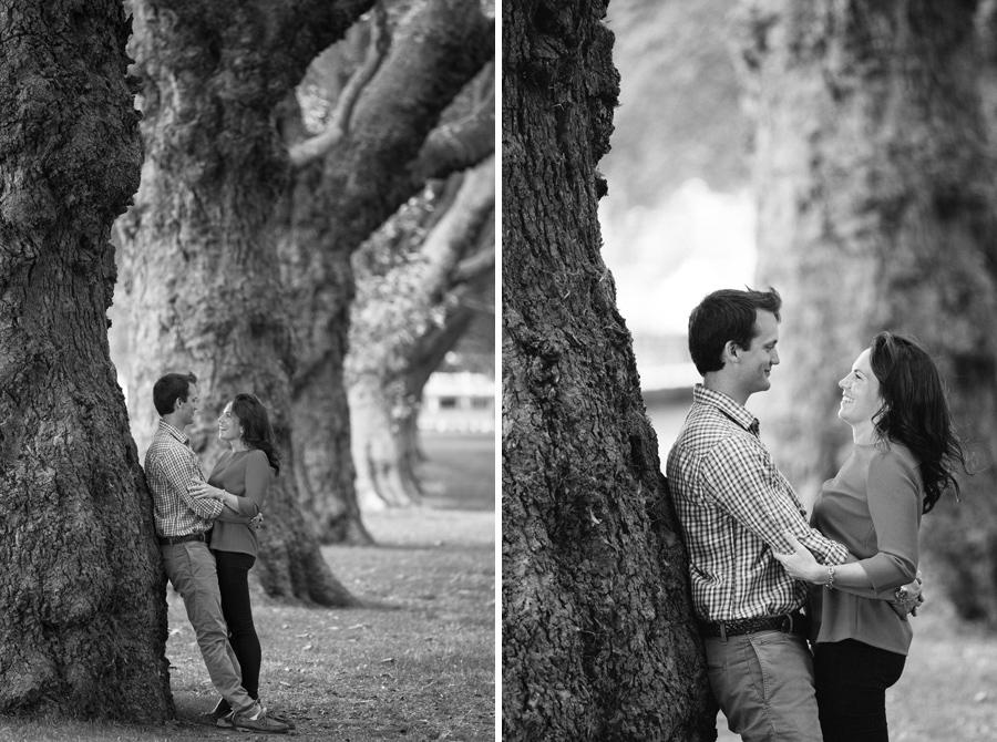 London Engagement photo shoot, Couple portrait, Wandsworth Park - Hermione McCosh Photography