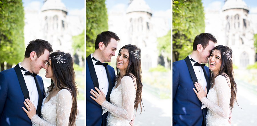 wedding photos, portrait in paris, Hermione McCosh Photography