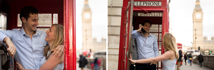 Hermione McCosh Photography London Engagement portrait session Westminster