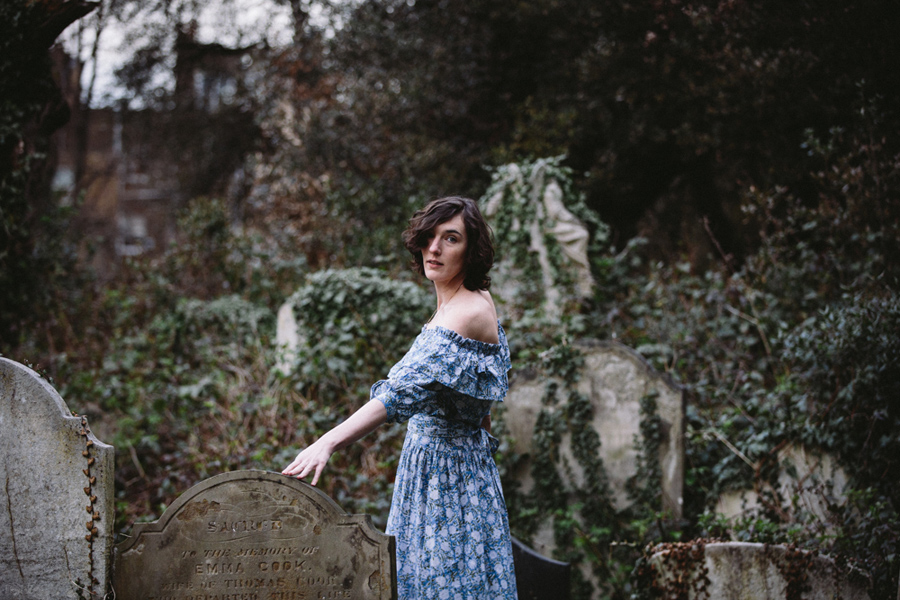 Lifestyle fashion, London - Maude Made Dresses - Hermione McCosh Photography