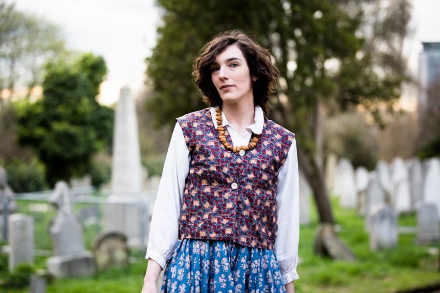 Lifestyle fashion, London - Maude Made Dresses - Hermione McCosh Photography