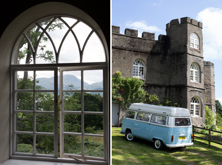Lake District wedding -Hermione McCosh Photography - VW van