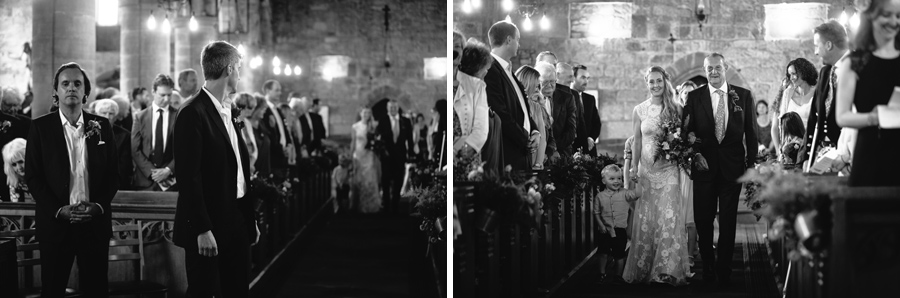 Greystoke church, Cumbria Lake District wedding -Hermione McCosh Photography