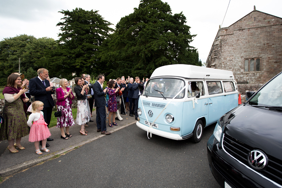 Greystoke VW Van - Lake District wedding -Hermione McCosh Photography