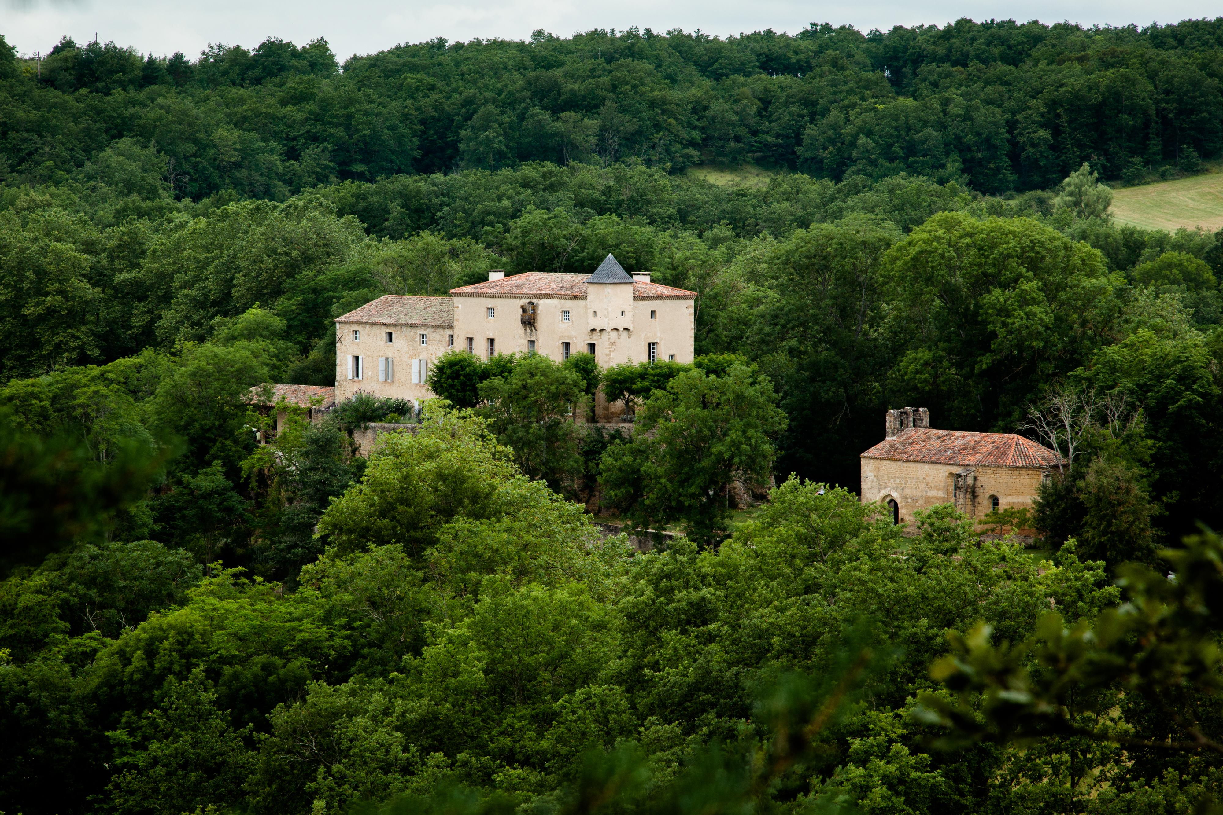 Chateau de Queille - Hermione McCosh Photography