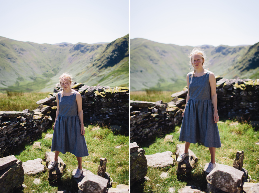 Hermione McCosh Photography - Lake District fashion photoshoot with Beatrice Perry London