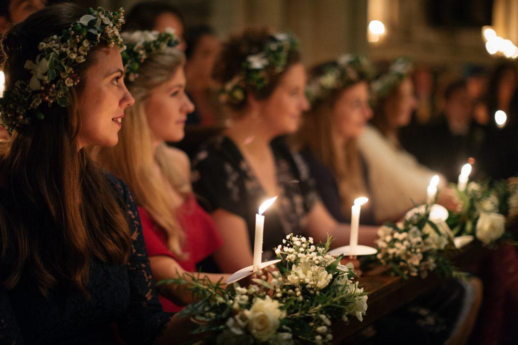 Yorkshire wedding photographer - Barton Church