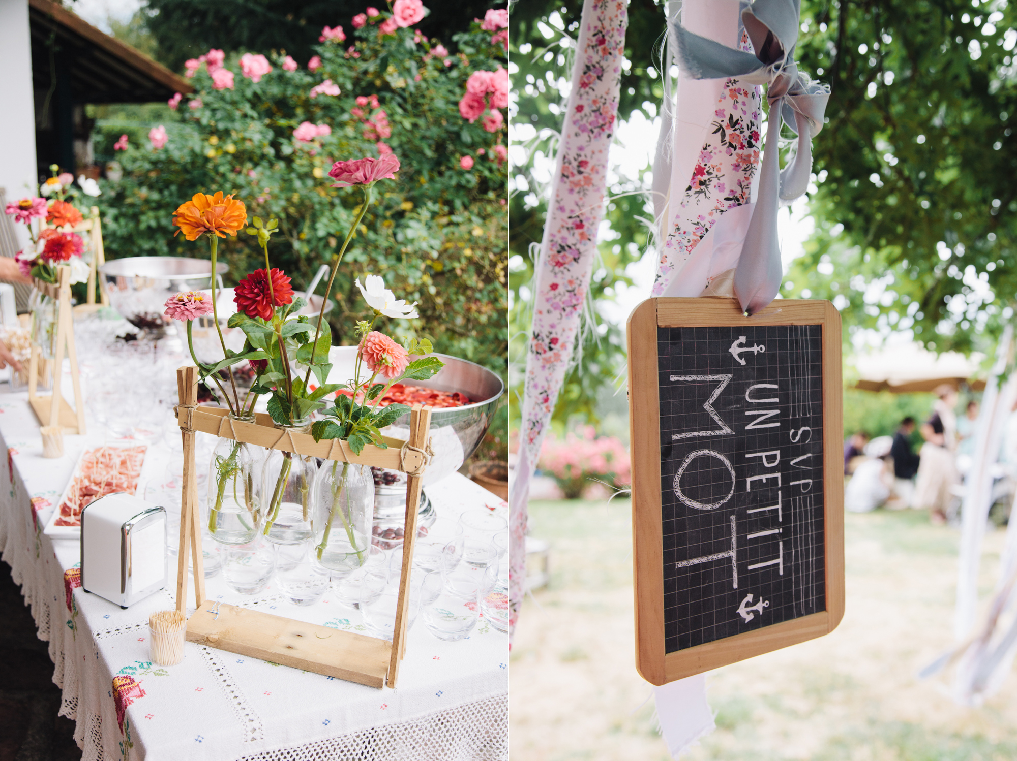 Hermione McCosh Photography - mariage détendu en France - Marie de Sare