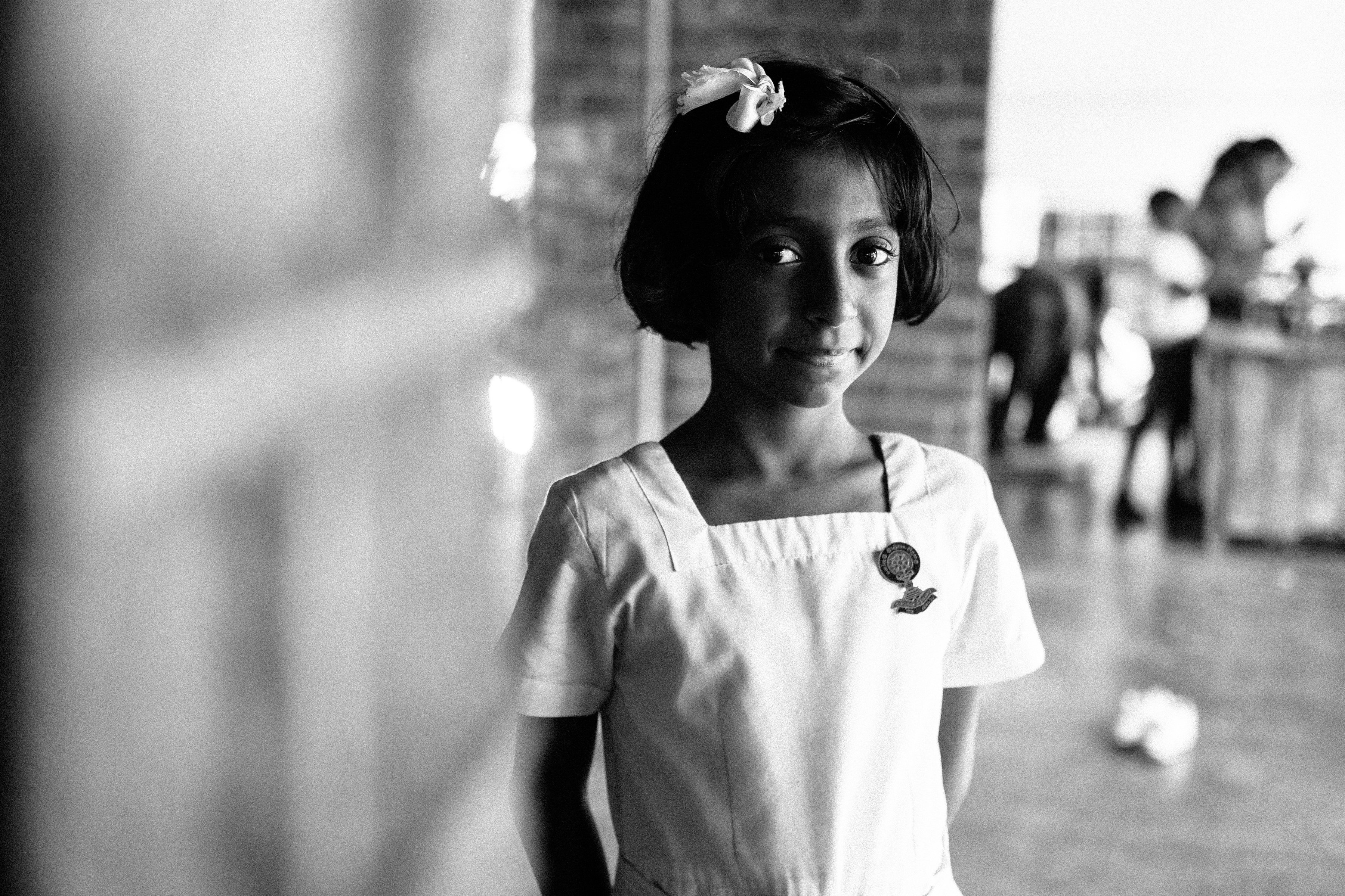 school child, Kandy. Hermione McCosh Photography